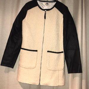 Jolt Faux Leather & Fur Jacket